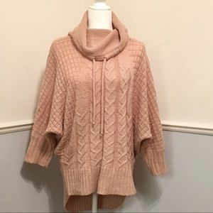 Anthropologie Ruby moon Cowl neck sweater
